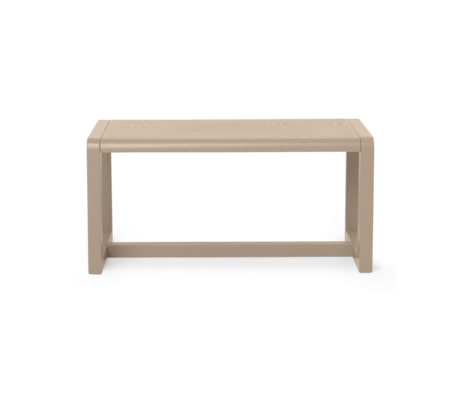 Ferm Living Child's bench Little Architect Cashmere wood 62x30x30cm