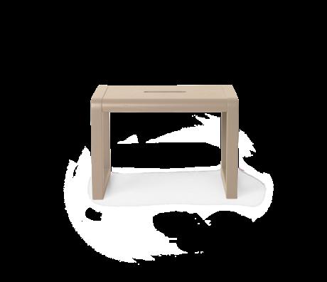 Ferm Living Kinderkruk Little Architect Cashmere hout 33x23x23cm