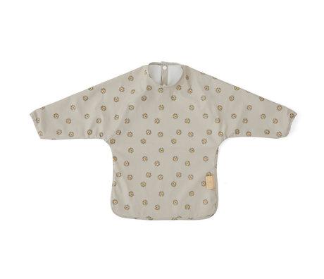 OYOY Kids apron Lion gray polyester 32.5x45cm