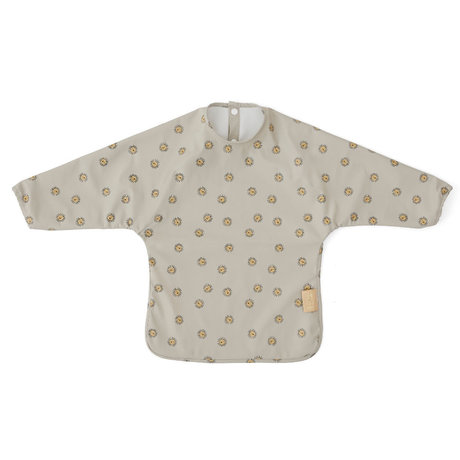 OYOY Kinderschort Lion grijs polyester 32,5x45cm