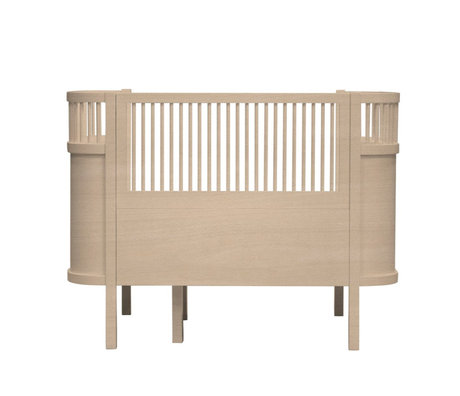 Sebra Bed Baby & Junior Wood brown wood 115-152x75,8x88cm