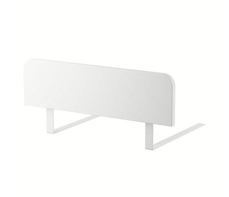 Sebra Child's bed rail Junior Grow classic white wood 60x17cm