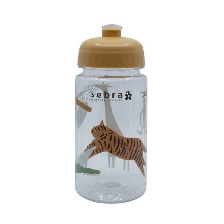 Sebra Drinking bottle Wildlife multicolour plastic Ø7x17cm