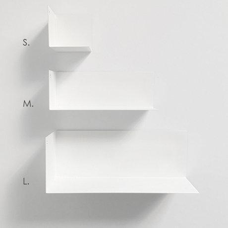 Groovy Magnets Magnetische kinderwandplank wit metaal M 22x8x8cm