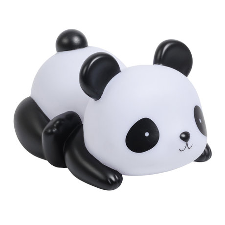 A Little Lovely Company Money box Panda black and white plastic 16x9x11cm