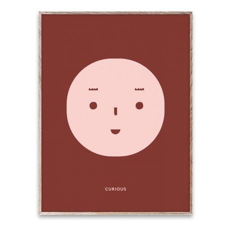 Paper Collective shop Children's poster Curious Feeling multicolour paper 30x40cm