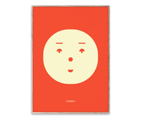 Paper Collective shop Poster Cheeky Feeling multicolour paper 30x40cm