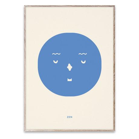 Paper Collective shop Kinderposter Zen Feeling multicolour papier 30x40cm