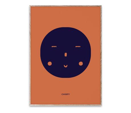 Paper Collective shop Children's poster Chirpy Feeling multicolour paper 30x40cm