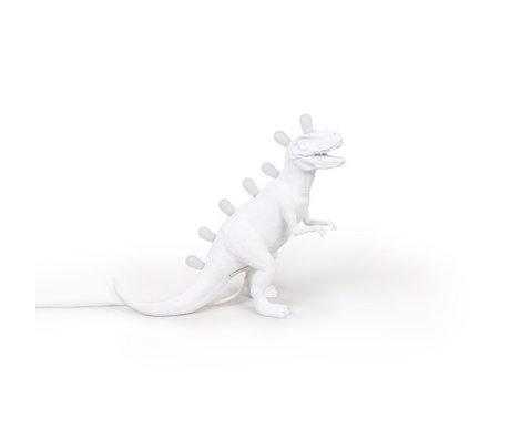 Seletti Kindertafellamp Jurassic Rex wit 39x13x33,5cm