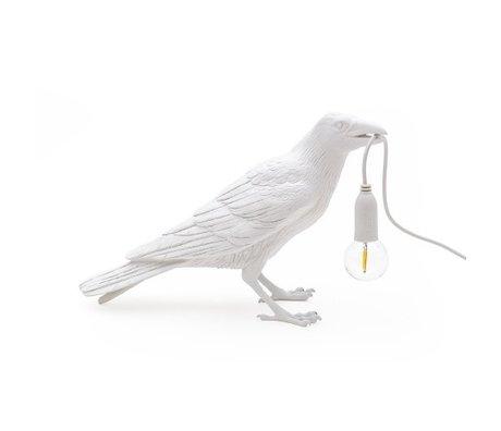 Seletti Kindertafellamp Bird waiting wit outdoor 33,5x11,5x10,5cm