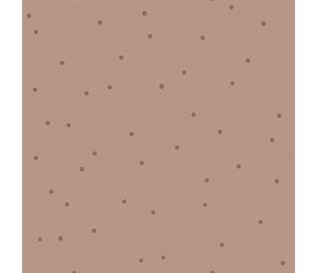 Ferm Living Children's wallpaper Dot pink 10x0.53m