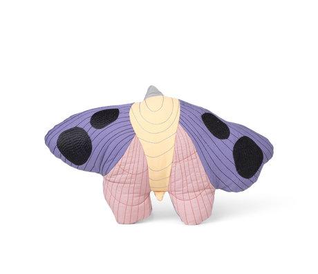 Ferm Living Kinderkussen Moth multicoloured katoen 47x32cm