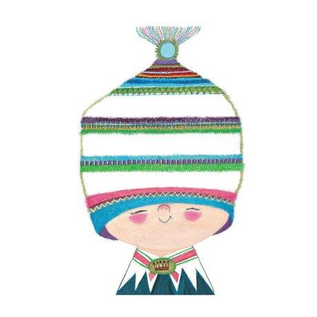 KEK Amsterdam Kinderbehang Little Prince multicolour vliespapier 194,8x280cm