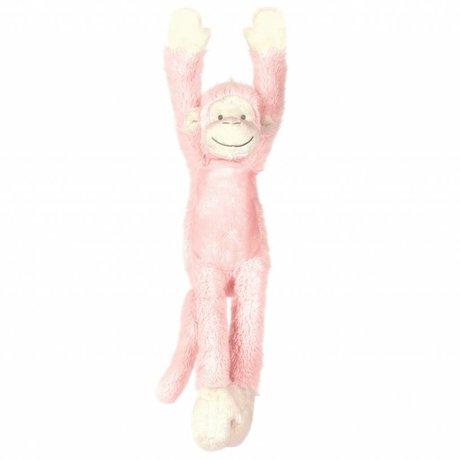 KEK Amsterdam Wall Sticker Monkey Mickey pink 11x37cm