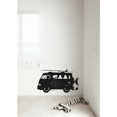 KEK Amsterdam Chalkboard Sticker 2 sizes black Surf Van blackboard film