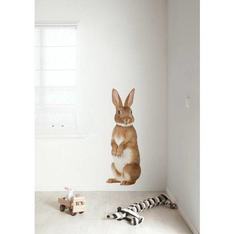 KEK Amsterdam Wall Sticker multicolour 43x118cm Forest Friend Rabbit XL wall film