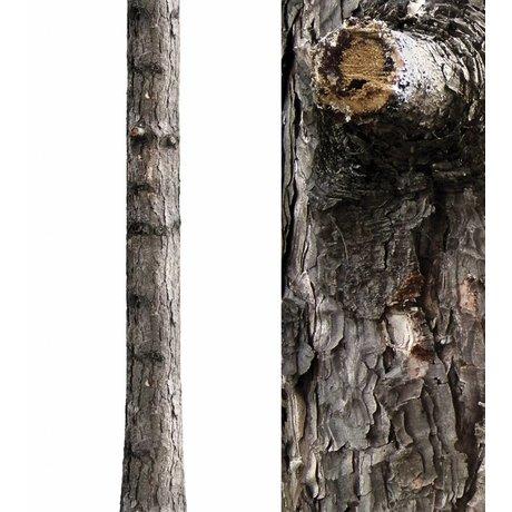 KEK Amsterdam Wall Sticker trunk 'Home Tree 6' brown / green vinyl 26x260cm