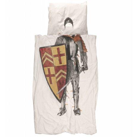 Snurk Beddengoed Cots Good Knight Ridder muticolour cotton 140x200 / 220cm-60x70cm