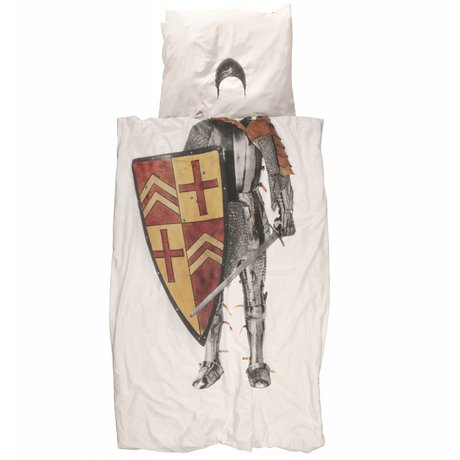 Snurk Beddengoed Kinderbeddengoed Knight Ridder muticolour katoen 140x200/220cm-60x70cm