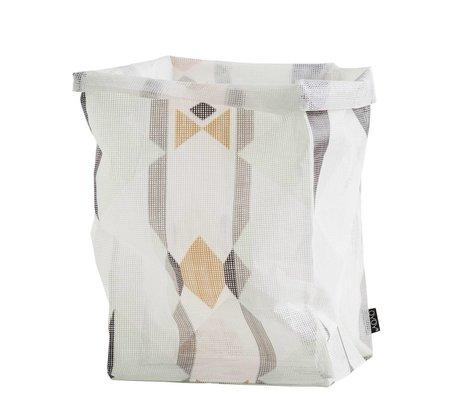 OYOY Child Pointing Mountain Basket Hokuspokus bag multicolour large 30x30x54cm