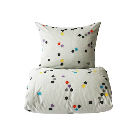 OYOY Children's Well Honeycomb multicolour 70x100cm cotton-45x40cm
