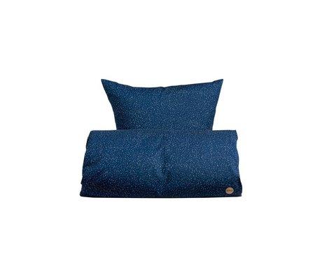 OYOY Children's Well-Starry blue cotton 70x100cm 45x40cm