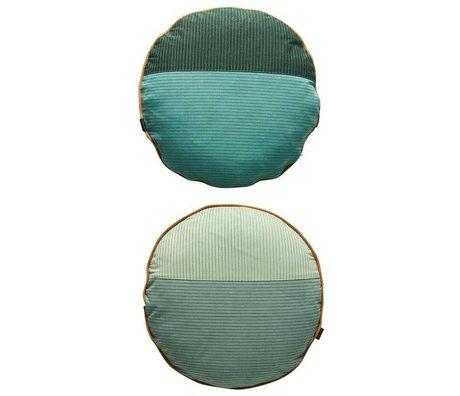 OYOY Children's Pillow PI sided multicolour gray cotton 48cm