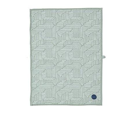 OYOY Children Towel Paddy blue mint cotton 50x70cm
