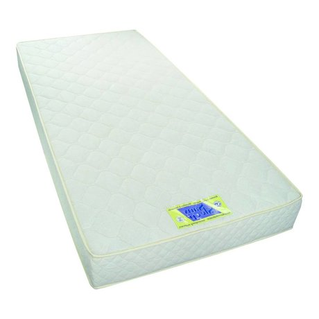 LEF collections Children's Mattress 90x200x18cm white textiles