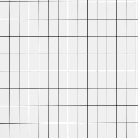 Ferm Living kids Children's wallpaper Grid black / white paper 10.05x0.53cm