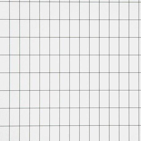 Ferm Living kids Kinderbehang Grid zwart/wit papier 10.05x0.53cm