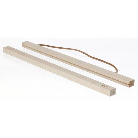 Ferm Living kids Ophangsysteem voor posters Maple wood hout 51x2 cm