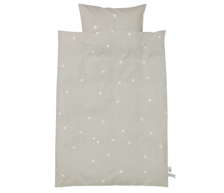 Ferm Living kids Children's Well-Teepee gray cotton 70x100cm 46x40cm