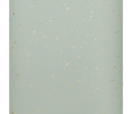 Ferm Living kids Children's wallpaper Confetti mint green 10x0.53m