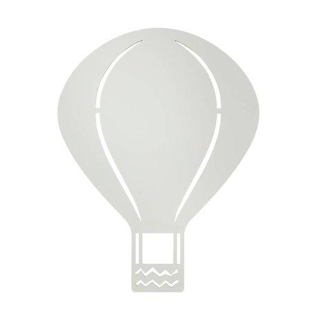 Ferm Living kids Kinderwandlamp luchtballon grijs hout 26,5x34,55cm, Air balloon