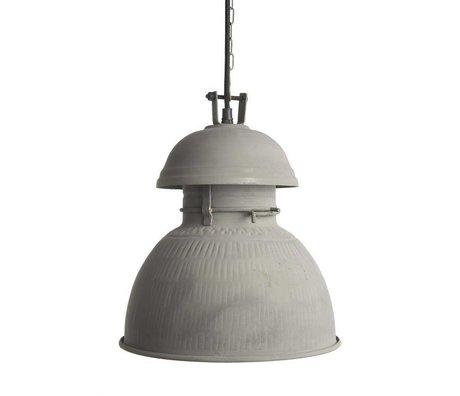 "HK-living Kids Lamp gray matte metal 56cm, Industrial Lamp ""Warehouse"" XL"