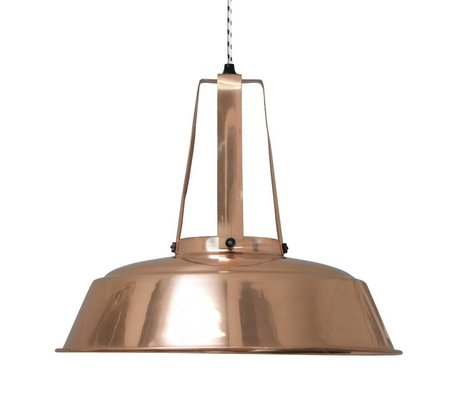HK-living Kinderhanglamp workshop L koper metaal 45x45x40cm