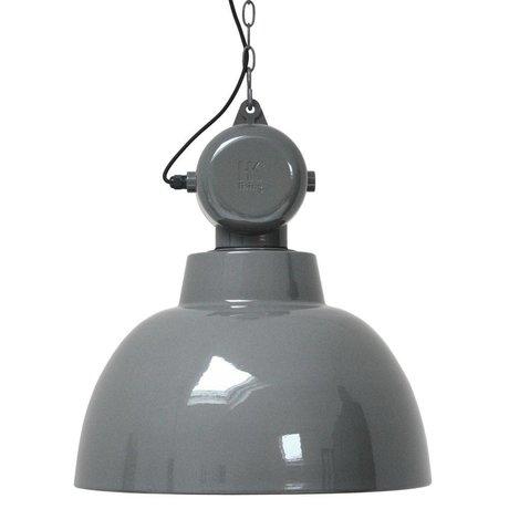 HK-living Kids Lamp Factory LARGE metal gray 50cm