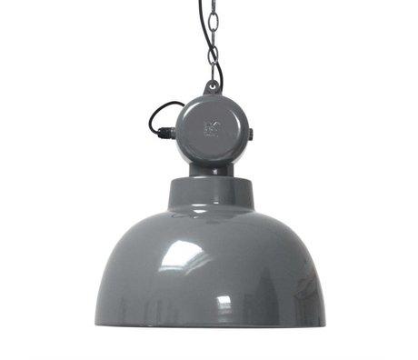 HK-living Kids Lamp Factory MEDIUM gray metal 40x45cm