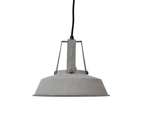 HK-living Kinderhanglamp workshop M mat grijs metaal 29,5x29,5x24cm