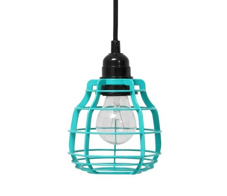 HK-living Kids Lamp with plug green 13x17cm LAB, LAB pole green