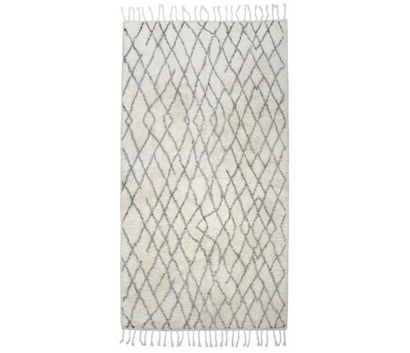 HK-living Kids Rug large checkered 90x175cm