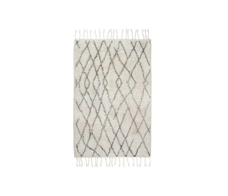 HK-living Kids Rug medium checkered 60x90cm