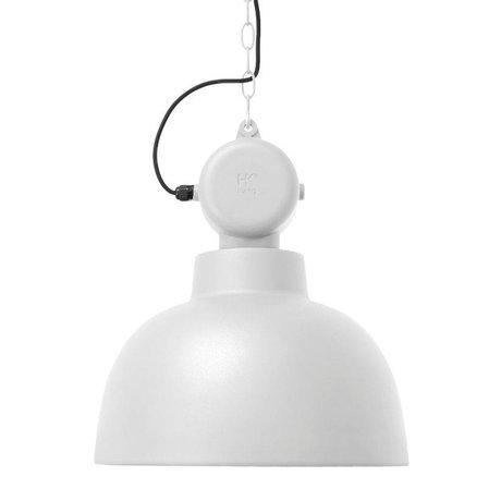 HK-living Kids Lamp Factory white matte metal MEDIUM 40x45cm