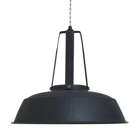 HK-living Children's lamp workshop L black mat rustic metal 45x45x40cm