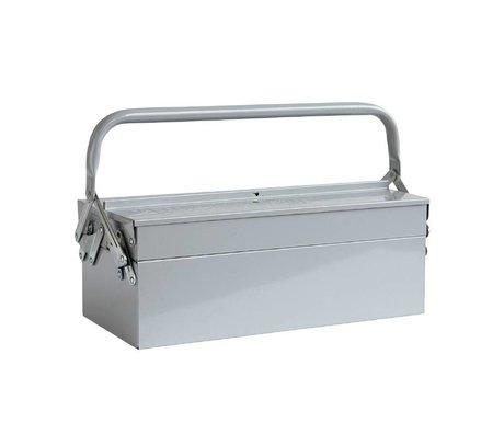 Housedoctor Kinderopbergkist TOOL grijs 42x20xh11,5cm