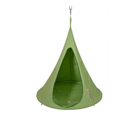 Cacoon Children Hangstoel tent Bonsai green 125x120cm