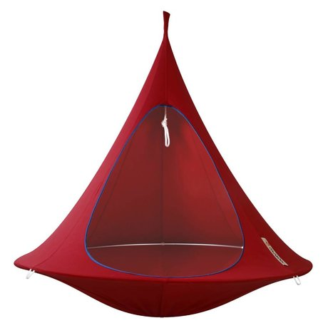 Cacoon Children Hangstoel tent Double 2 double red 180x150cm