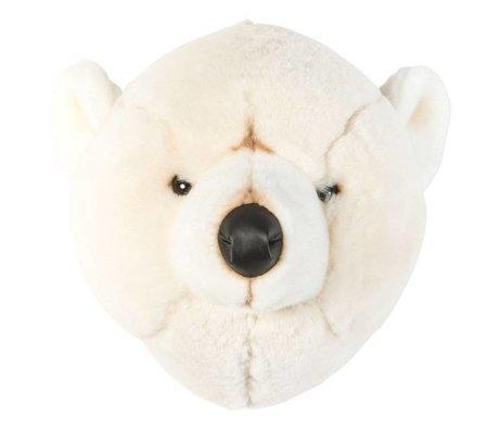 Wild & Soft Animal bear Basile white 31x32x30